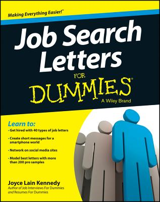 Job Search Letters for Dummies By Kennedy, Joyce Lain